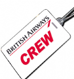 British Airways (1984) Crew Tag